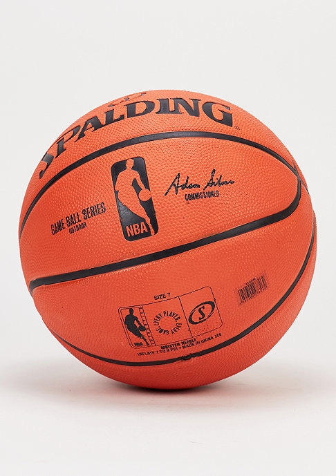Spalding Basketball NBA Gameball Replica orange