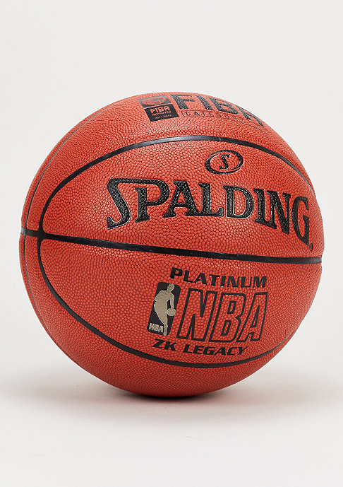 Spalding Basketball NBA Platinum Legacy FIBA orange