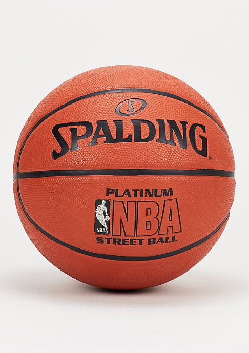 Spalding Basketball NBA Platinum Streetball orange