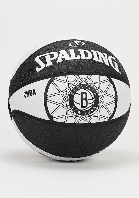 Spalding Basketball NBA Team Brooklyn Nets black/white