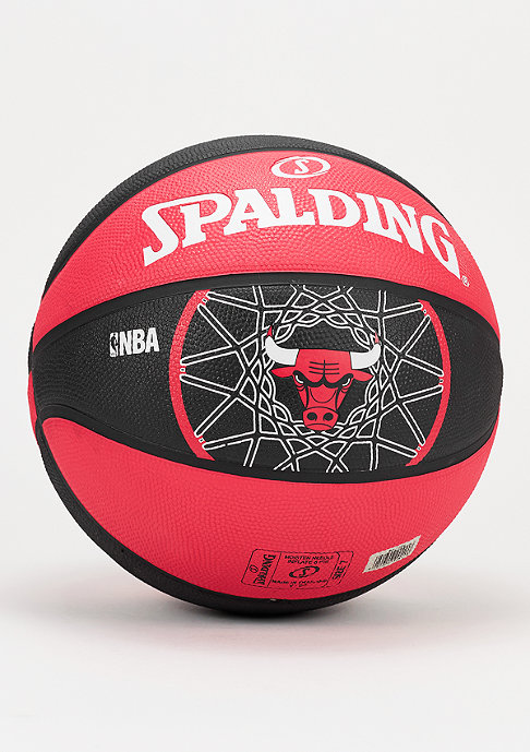 Spalding Basketball NBA Team Chicago Bulls red/black