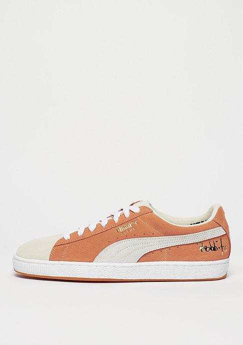 Suede Classic x Bobbito apricot buff/puma white