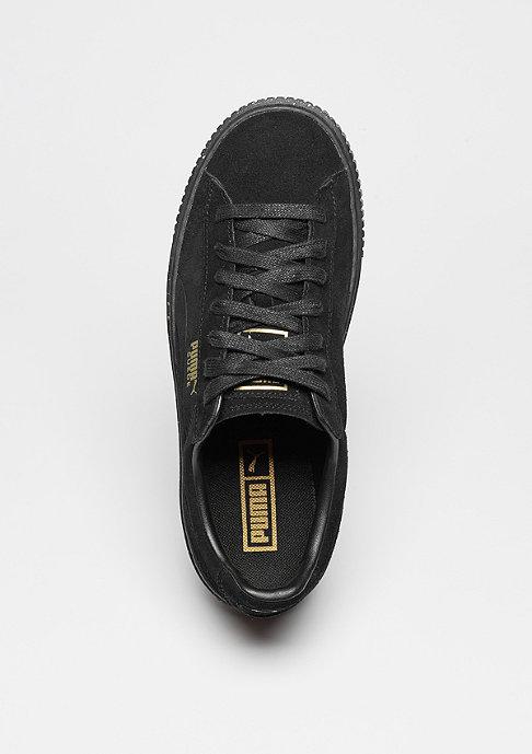 Puma Suede Platform Speckle black/black/gold
