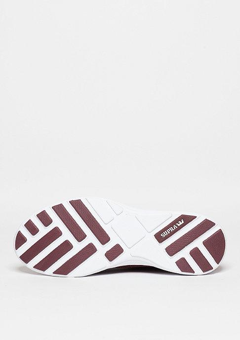 Supra Schuh Hammer Run burgundy/brown/white