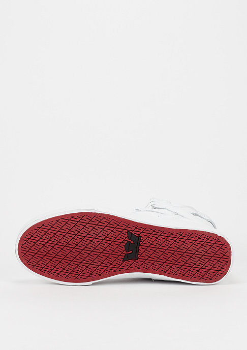 Supra Schuh Skytop Classic white/white/red