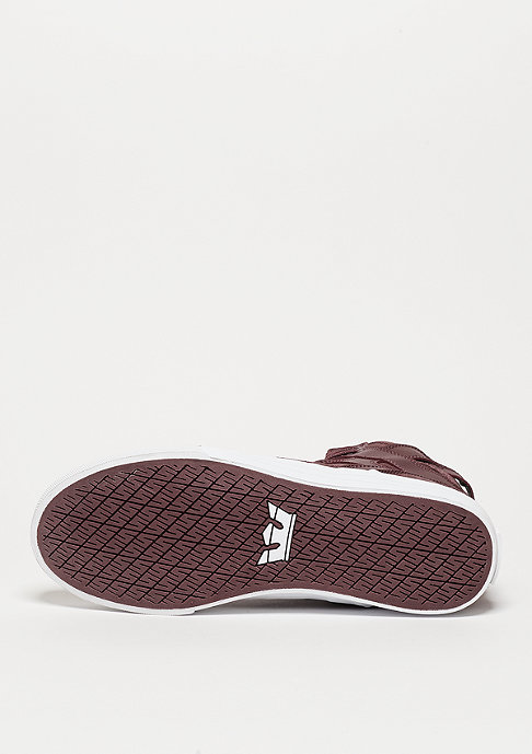 Supra Schuh Skytop burgundy/white