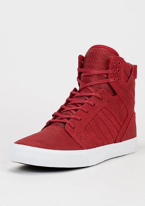 Supra Schuh Skytop cardinal/white
