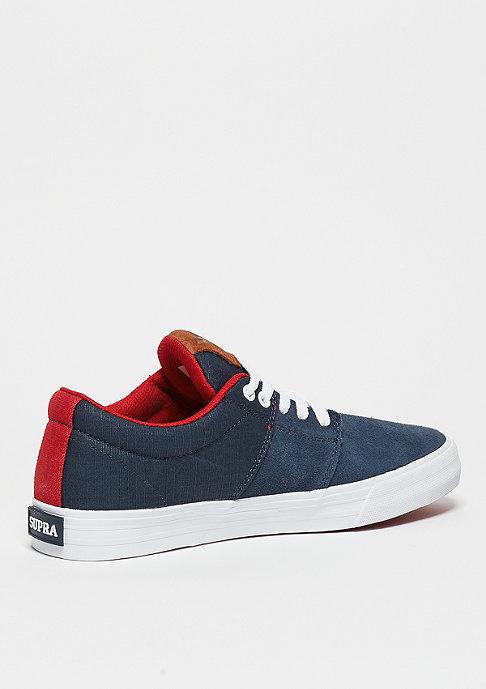 Supra Schuh Stacks Vulc II navy/red/white