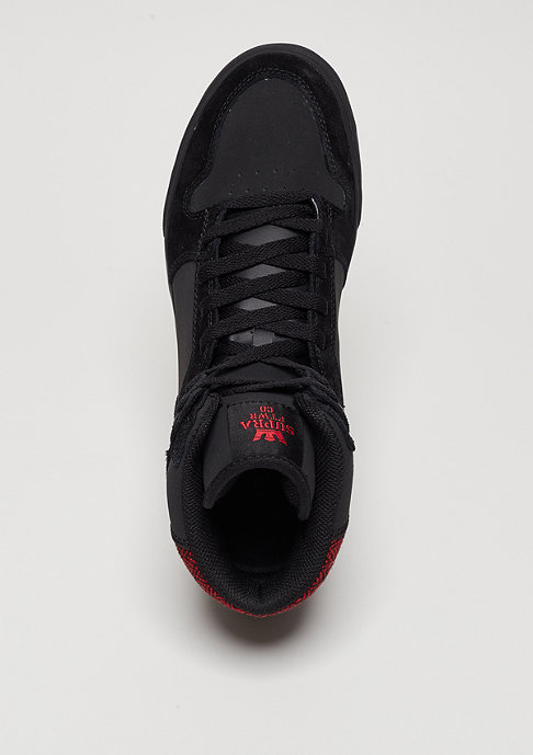 Supra Schuh Vaider black/red herrringbone/black