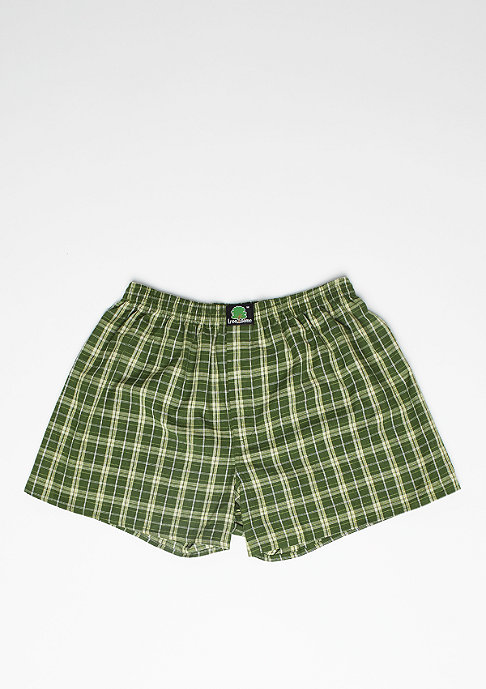 Treesome Boxershort Plaid green