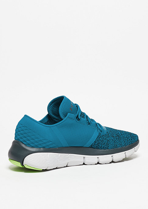 Under Armour Laufschuh Speedform Fortis 2 Txtr peacock/glacier grey/stealth grey