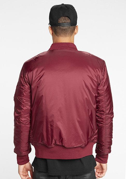 Urban Classics Jacke Basic Bomber burgundy