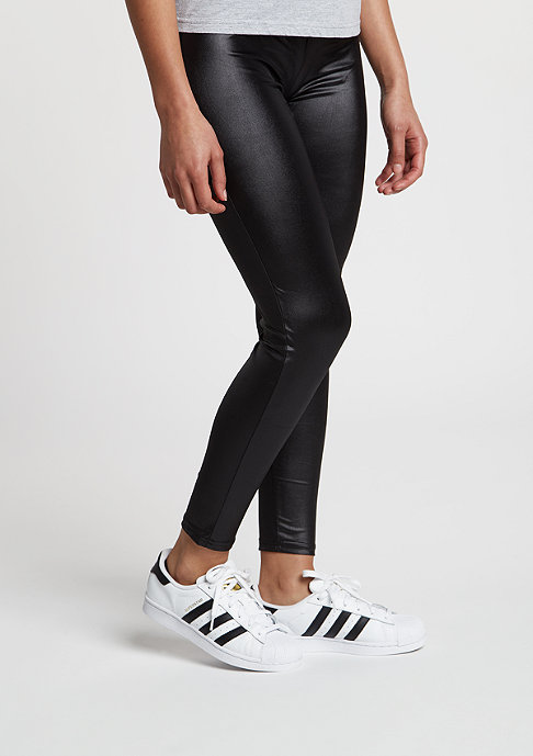 Urban Classics Leggings Leather Imitation black