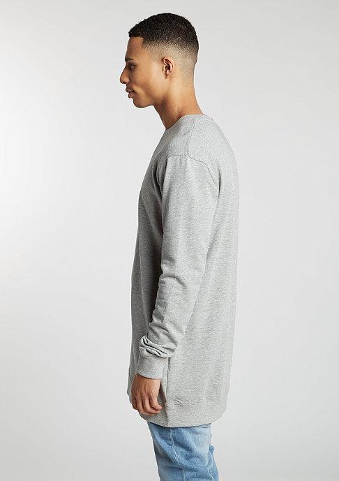 Urban Classics Sweatshirt Long Light Fleece grey