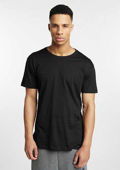 Urban Classics T-Shirt Long Tail black/black