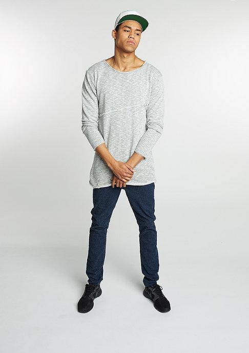 Urban Classics Sweatshirt Fashion Long Terry grey melange