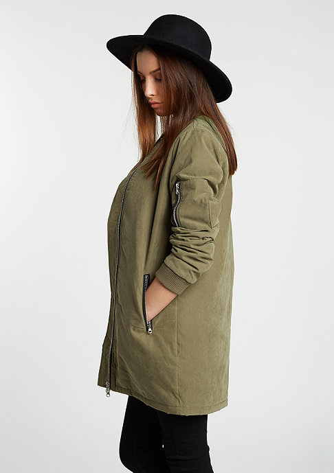 Urban Classics Jacke Peached Long Bomber olive