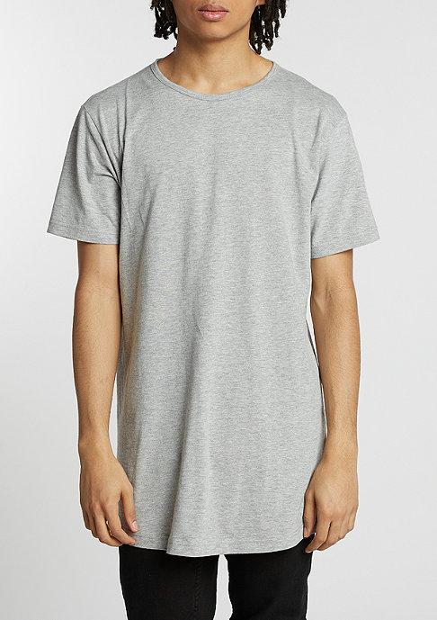 Urban Classics T-Shirt Peached Shape Long grey