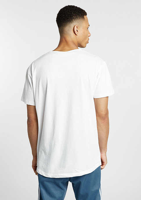 Urban Classics T-Shirt Peached Shape Long off white