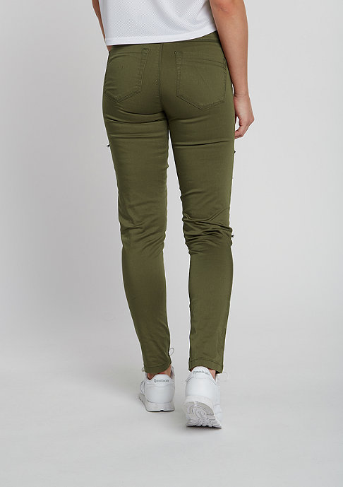 Urban Classics Jeans Stretch Biker olive