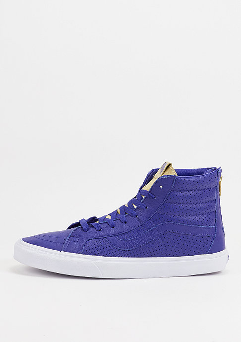 VANS Skateschuh SK8 Hi Gold Tongue royal blue