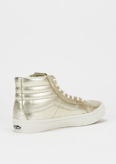 VANS Schuh SK8 Hi Metallic wheat gold