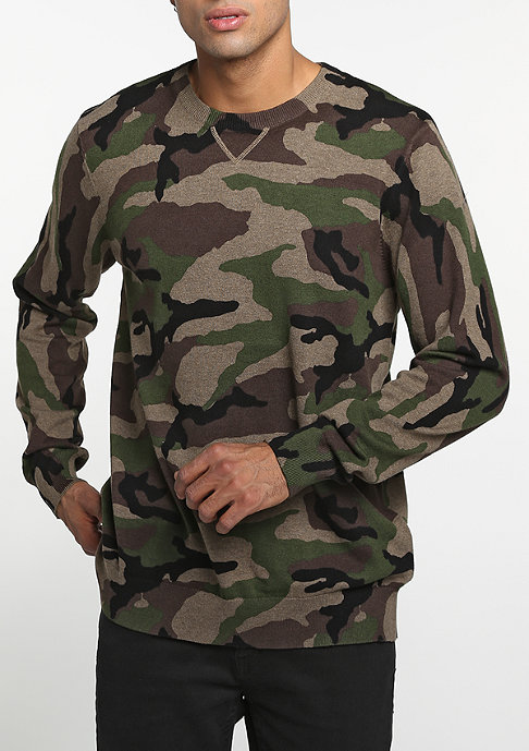 VANS Sweatshirt Sayler camo heather