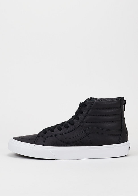 VANS Schuh Sk8-Hi Reissue Zip Premium Leather black/true white