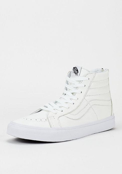 VANS Skateschuh Sk8-Hi Reissue Zip Premium Leather true white/black