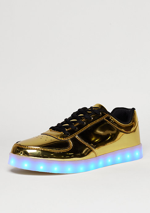Wize & Ope Schuh LED gold