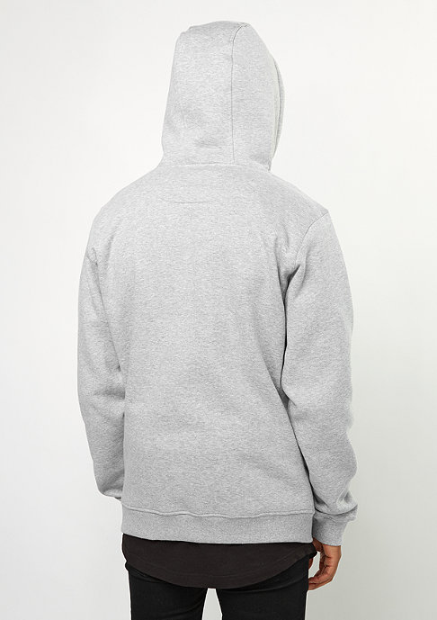 Wu-Wear Hooded-Sweatshirt Wu-Logo heather grey/black