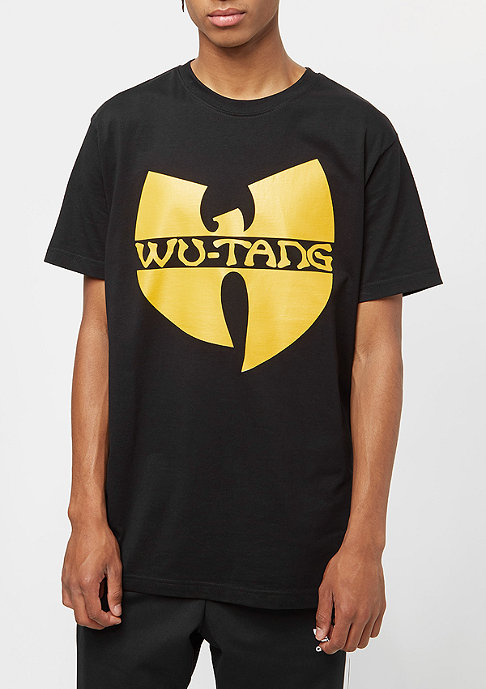 Wu-Wear Wu-Logo black/yellow