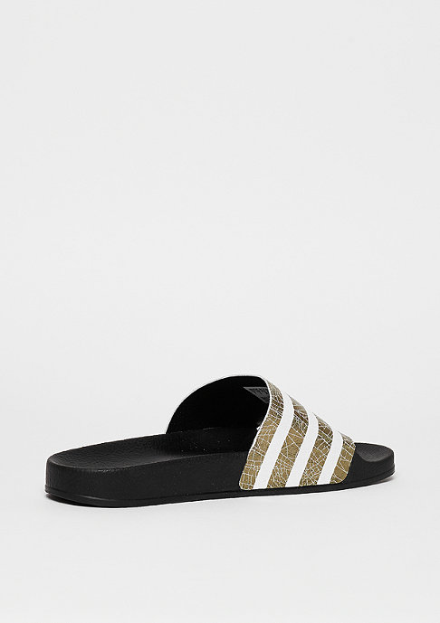 adidas Badeschlappe Adilette core black