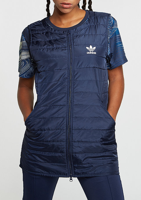 adidas Weste BG Padded Long night indigo