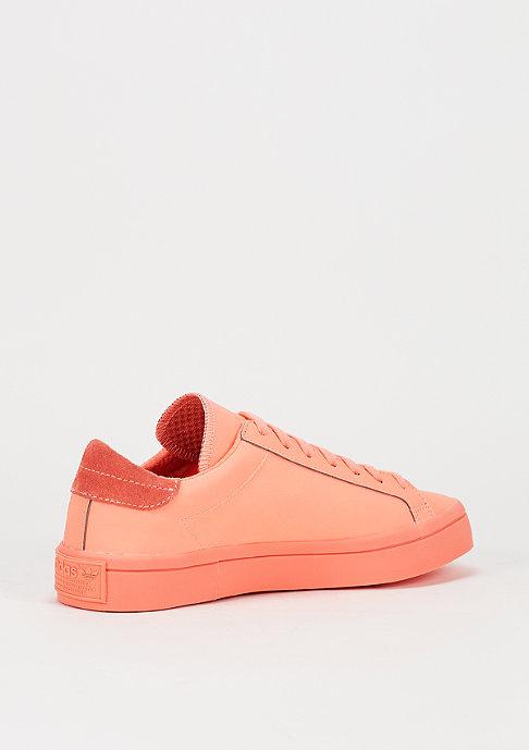 adidas Schuh Court Vantage Reflective sun glow