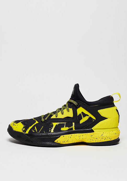 adidas Basketballschuh D Lillard 2 core black/yellow/core black