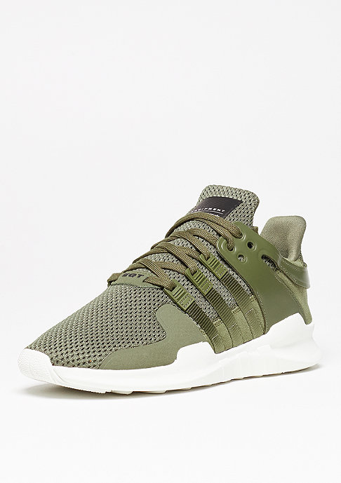 adidas Laufschuh Equipment Support ADV olive cargo/olive cargo/red