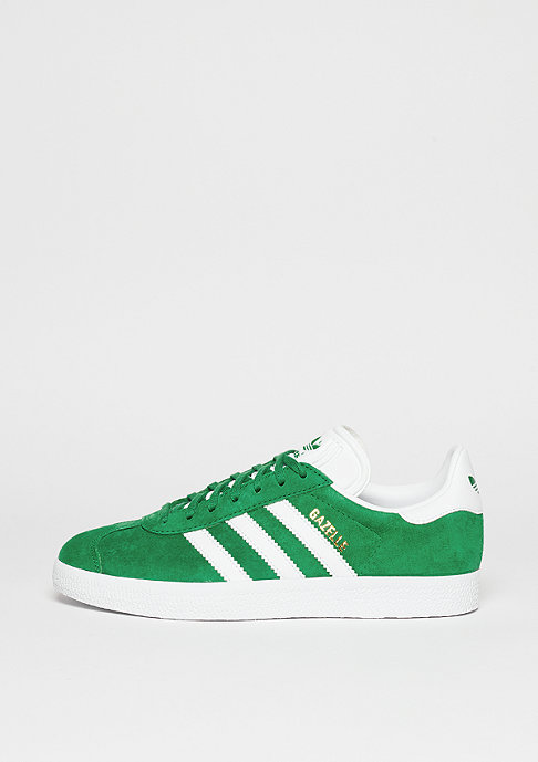 adidas Schuh Gazelle green/white/gold metallic