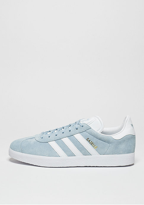 adidas Schuh Gazelle clear sky/white/gold metal