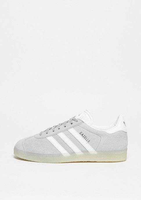 adidas Laufschuh Gazelle mid grey/white/metallic silver