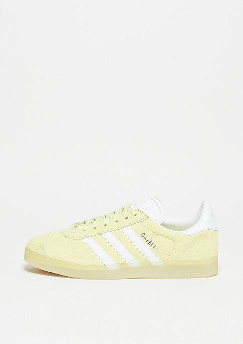 adidas Laufschuh Gazelle ice yellow/white/metallic silver