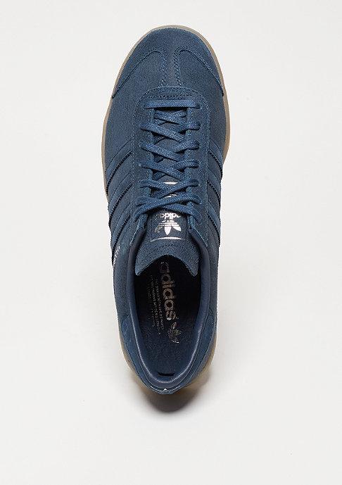 adidas Laufschuh Hamburg mineral blue/mineral blue/metallic silver