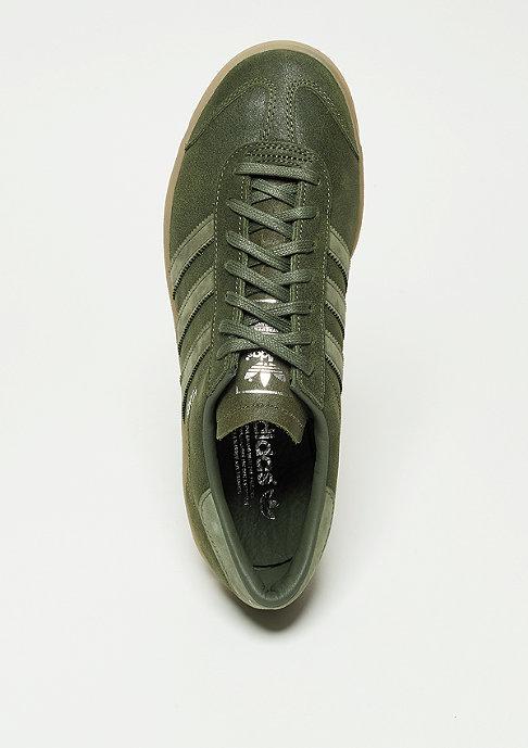 adidas Laufschuh Hamburg base green/base green/metallic silver