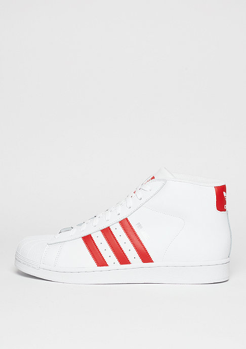 adidas Basketballschuh Pro Model white/red/white