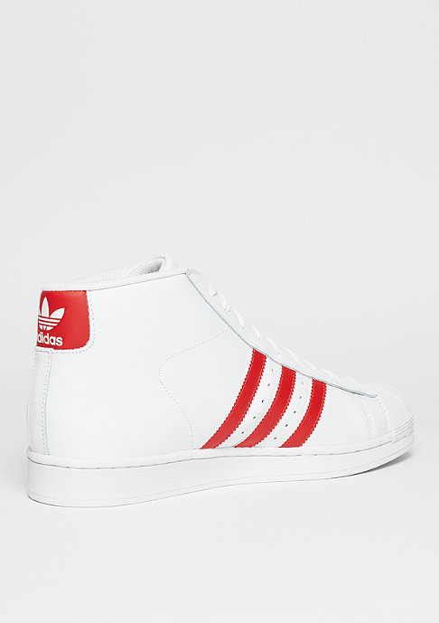 adidas Basketballschuh Pro Model white/red/white