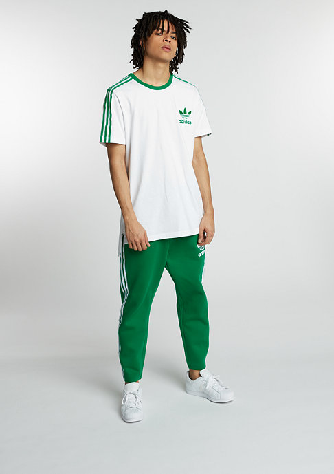 adidas T-Shirt SS Tee white/green