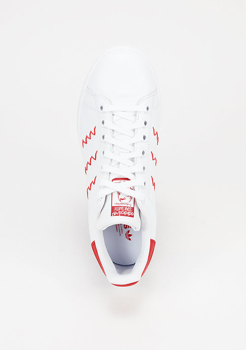 adidas Schuh Stan Smith white/white/red