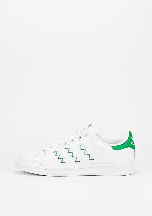 adidas Schuh Stan Smith white/white/green