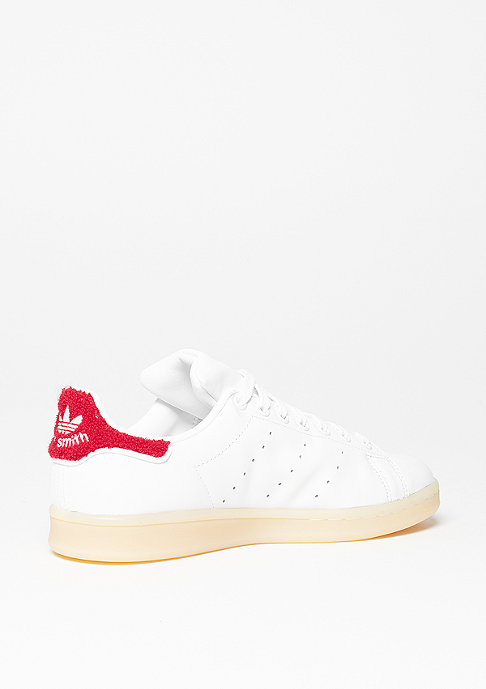 adidas Schuh Stan Smith white/white/collegiate red