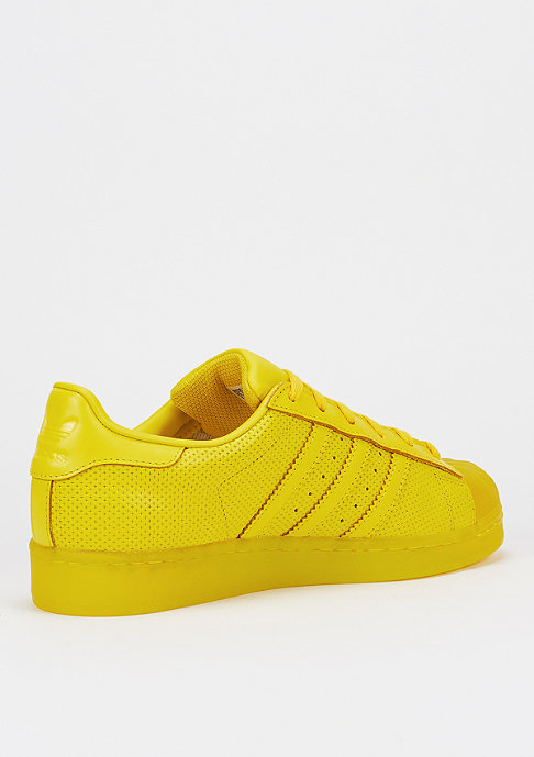 adidas Schuh Superstar Translucient yellow